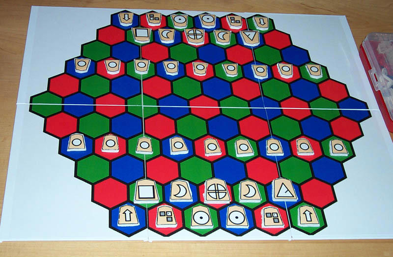 Make Your Own 91-Space Hexagonal Board