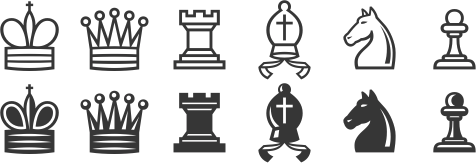 Unicode Fonts with Chess Piece Images