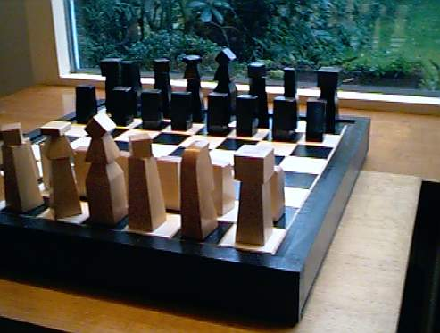 Abstract Chessset From Poland