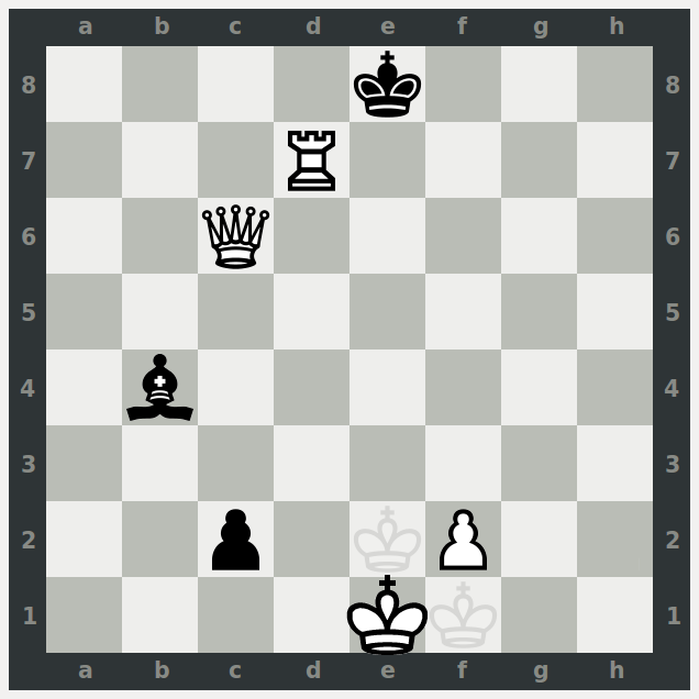 HTML picture of the first game of entangled chess